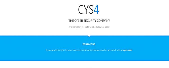 """Cys4, il sito """"svuotato"""" di ogni contenuto. Online rimane solo il modulo per i contatti"""