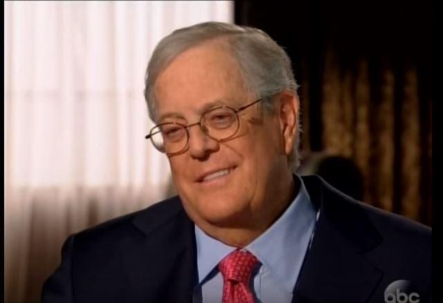 10 e 9. David e Charles Koch 39,6 miliardi di dollari ciascuno Sono fratelli, hanno rispettivamente 81 e 75 anni e sono i proprietari delle Koch Industries, una multinazionale petrolifera. In foto David.