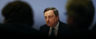 """Bce, analisti: """"Tassi negativi non funzionano"""". Polemiche in Germania: """"Draghi salva banche zombie"""""""
