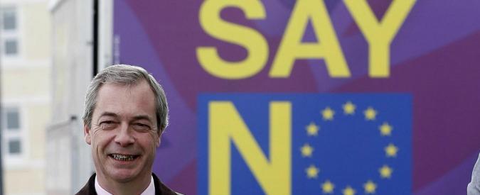 """Attentati Bruxelles, euroscettici inglesi rilanciano: """"Vogliamo Regno Unito fuori dall'Ue per difenderci dal terrorismo"""""""