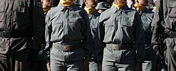 Legge Madia, Forestali in piazza a Roma contro l'accorpamento con i Carabinieri
