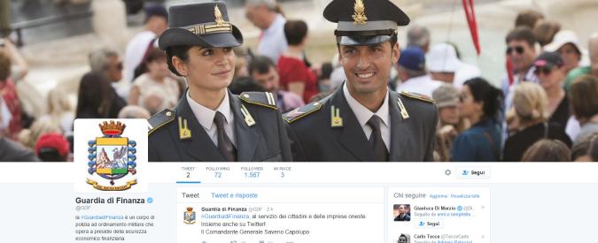 Guardia di Finanza approda su Twitter. Attivo il profilo ufficiale delle Fiamme Gialle
