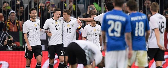 Germania-Italia 4-1: lezione tedesca spegne entusiasmo azzurro post-Spagna. Test allarmante, ma conta poco – Video