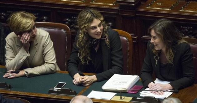 Camera dei Deputati - Voto di sfiducia al ministro Maria Elena Boschi
