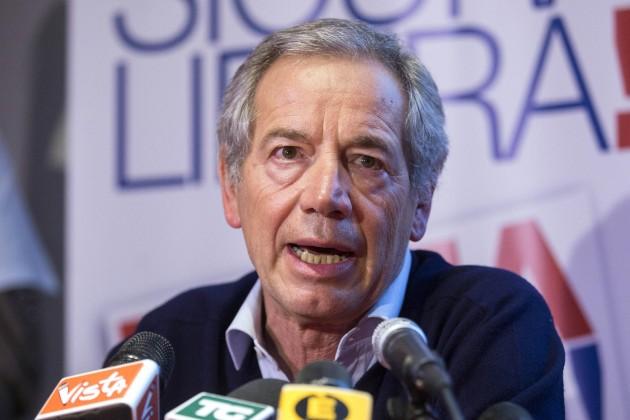 Guido Bertolaso annuncia i risultati delle consultazioni sulla sua candidatura a sindaco di Roma