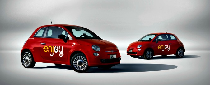 Car sharing, le tariffe Enjoy saranno più costose a partire da aprile