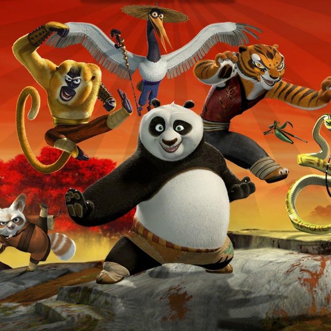 kung fu panda 3 po ritorna al cinema e da guerriero