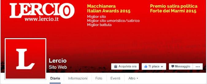 Lercio, bloccata per 24 ore la pagina Facebook del sito satirico