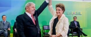 Brasile, la telefonata Lula-Rousseff diffusa nel giro di 4 ore. E il giudice aveva già ordinato lo stop alle intercettazioni
