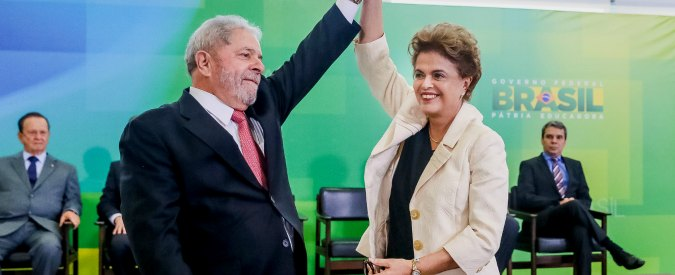 """Brasile, 17 aprile il voto sull'impeachment di Dilma. """"Lula offre 250mila euro e incarichi a ogni deputato che si oppone"""""""