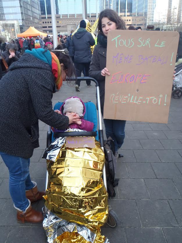 manifestazione Bruxelles