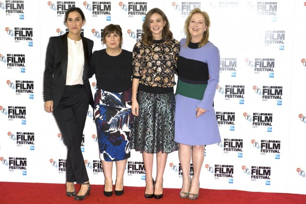 Photocall zu Suffragette in London