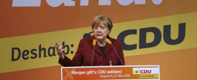 Germania, Merkel a rischio nel voto dei Laender dopo la crisi migranti. I nazionalisti di Afd pronti a fare il pieno
