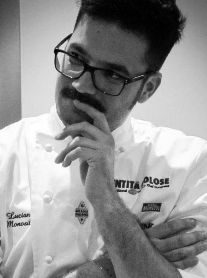 """Luciano Monosilio, """"la cucina è lavoro, la parte spettacolare c'è ma non è tutto"""""""