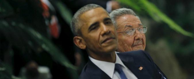 """Obama a Cuba: """"Sono qui per seppellire la Guerra Fredda: facciamo il viaggio insieme. Spero di incontrare Fidel Castro"""""""