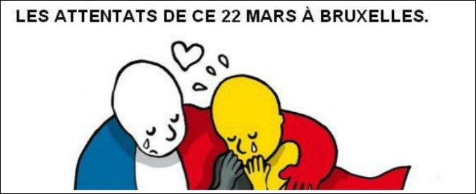 Attentati a Bruxelles, su Twitter solidarietà e preghiere per le vittime  #PrayForBelgium