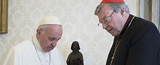 """Preti pedofili, media australiani: """"Cardinale Pell indagato per abusi sessuali su minori"""""""