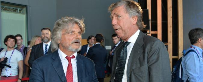 Sampdoria e Genoa, dal sogno europeo al rischio Serie B. I presidenti Ferrero e Preziosi sul banco degli imputati – Video