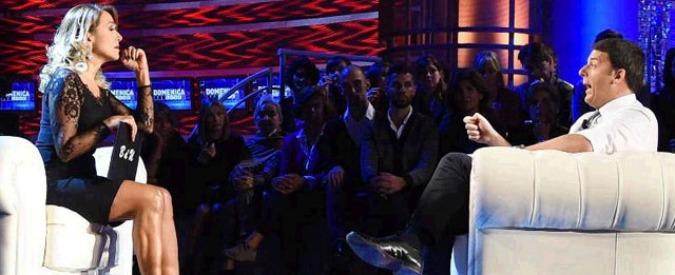 Renzi da Barbara D'Urso (per la quarta volta): a Domenica Live parlerà di politica estera, lavoro e unioni civili