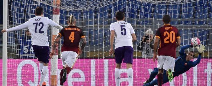 Serie A, Roma Fiorentina 4-1. L'Olimpico invoca Spalletti. Totti entra nel finale