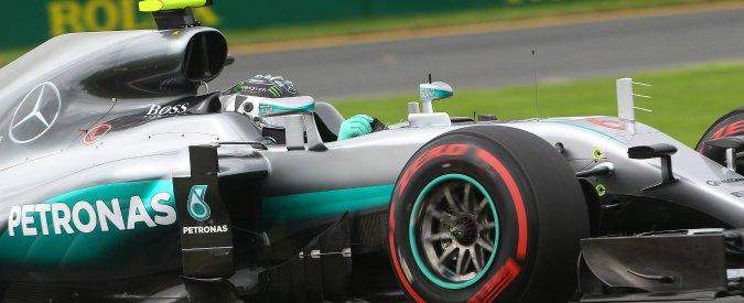 Formula 1, in Australia vince Rosberg davanti all'altra Mercedes di Hamilton. Vettel terzo. Alonso, pauroso incidente (VIDEO)