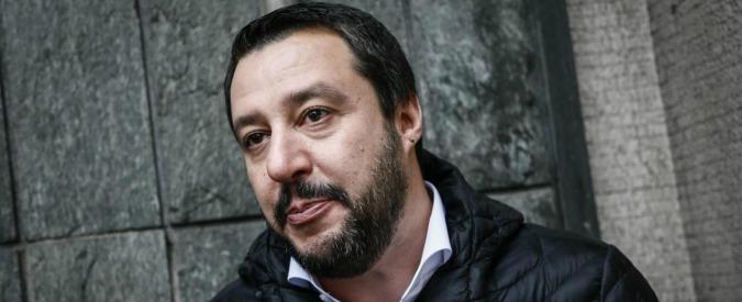 Matteo Salvini rischia processo per vilipendio della magistratura. Chiesta l'autorizzazione al ministro Orlando