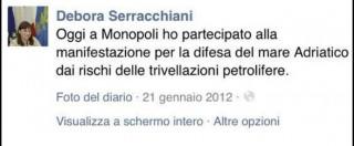 Referendum Trivelle, Serracchiani firma il documento Pd per l'astensione. Ma nel 2012 sfilava con i No Triv