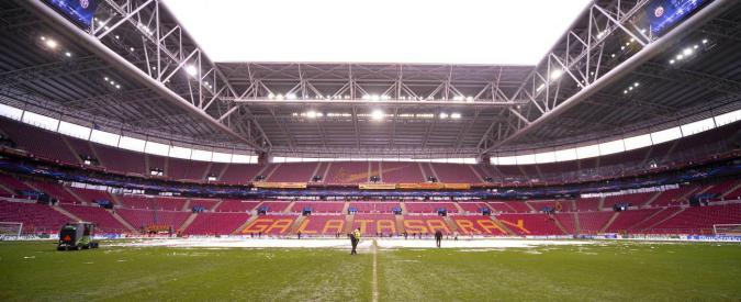"""Turchia, annullata la partita tra Galatasaray e Fenerbahce a Istanbul. """"Minaccia non meglio precisata"""""""