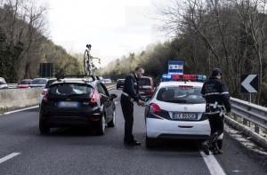 suv ciclisti via Aurelia Roma 2