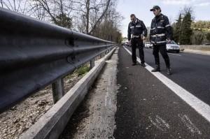 suv ciclisti via Aurelia Roma 3