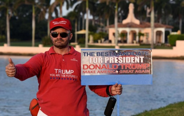 Usa 2016, sostenitori di Donald Trump in Florida
