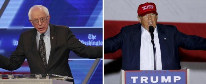 Primarie Usa 2016, ultima chance per i repubblicani di fermare Trump. Dem, Sanders punta sulla working class in crisi