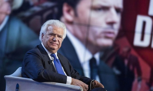 "Denis Verdini ospite a ""Porta a Porta"""