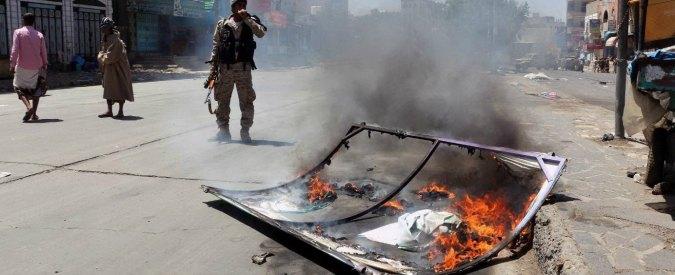 Yemen, raid aereo saudita su mercato all'ora di punta: almeno 41 morti