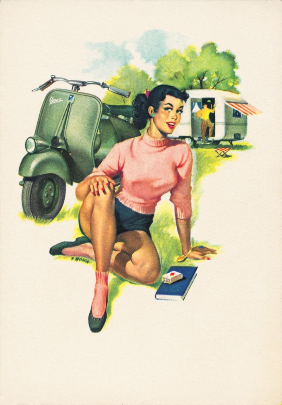 1953 Calendario Vespa