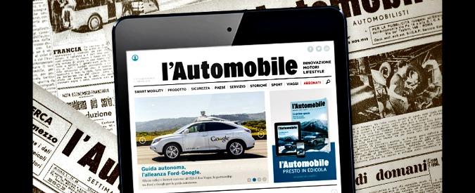 Aci, la storica rivista L'Automobile si rilancia sia online che in edicola