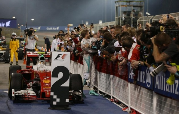F1, GP del Bahrain 2016 - La Gara