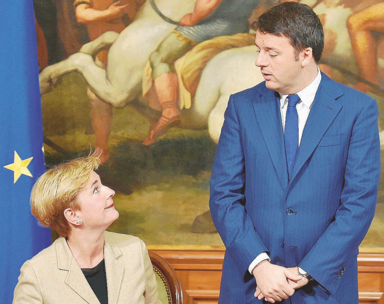 """Renzi si indigna dagli Usa: """"Ha taciuto sul compagno"""""""