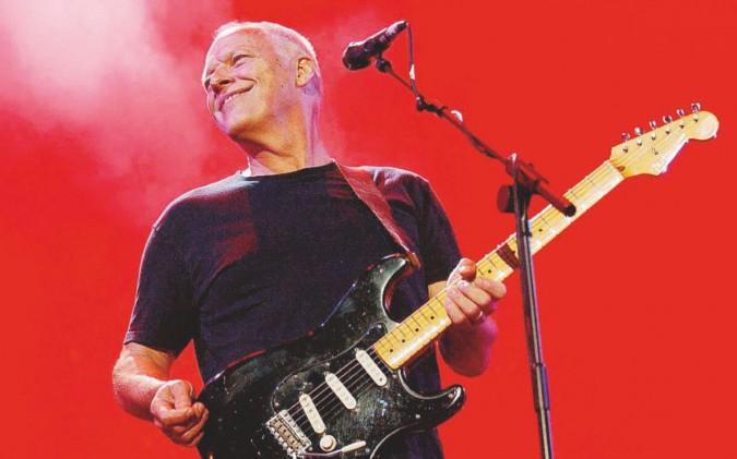 """Gilmour suona ancora a Pompei dopo il """"non concerto"""" del 1971"""