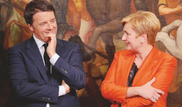 Renzi, per ora prendo interim ,poi vedremo