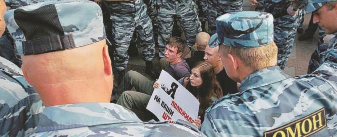 Sembra la Cecenia ma è Mosca sotto le leggi di Putin