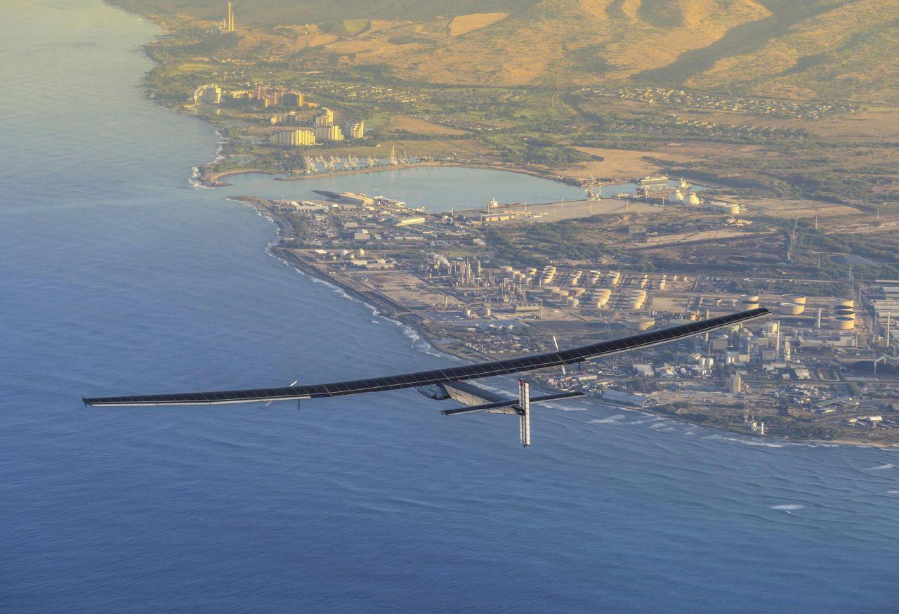 Energia  verde,  la sfida dell'uomo che vola col sole
