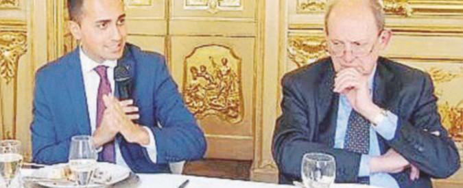 Prove da candidato: Di Maio al pranzo con i membri italiani della Trilateral