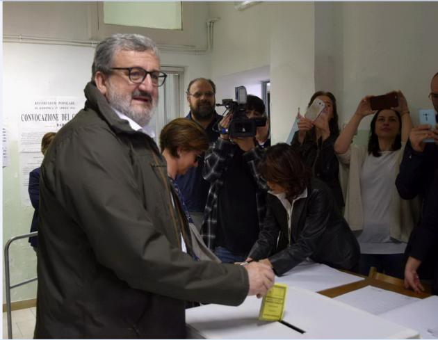 Presidente della Puglia Michele Emiliano
