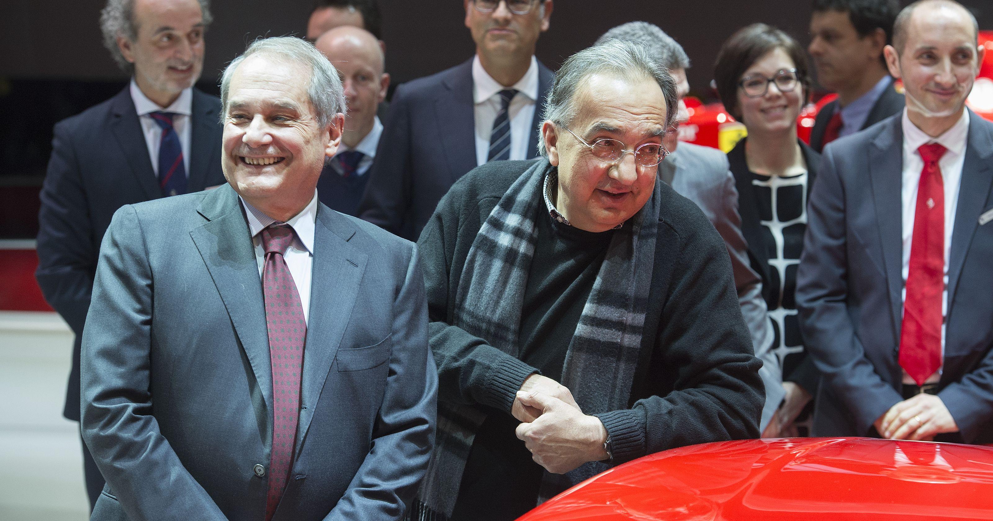 Ferrari, il grande gioco della successione Felisa lascia, Marchionne è in pole