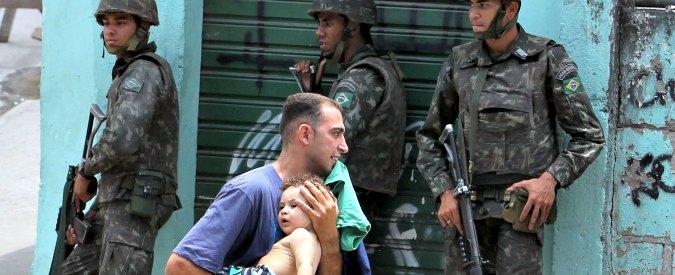 Giochi Rio 2016. Violenza nelle favelas, fallito il piano di sicurezza dello Stato. A marzo 441 omicidi: +15% sul 2015