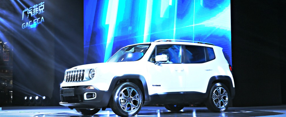 Jeep Renegade, comincia la produzione anche in Cina