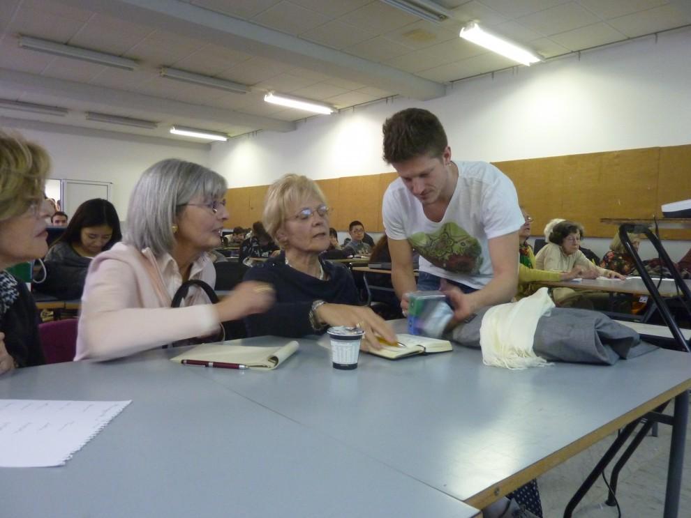 Genova adotta un anziano all 39 universit gli studenti for Scuola del design polimi