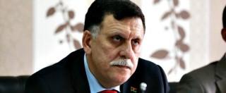 """Libia, premier al Sarraj: """"Ci sono 800mila migranti pronti a invadere l'Europa se non si risolve la crisi. Tra loro jihadisti"""""""