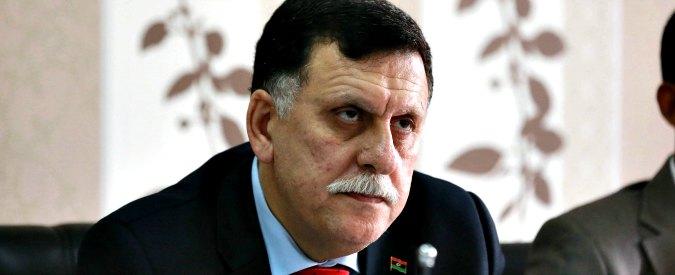 """Libia, governo Al Sarraj chiede all'Onu """"aiuti per proteggere"""" pozzi petroliferi"""